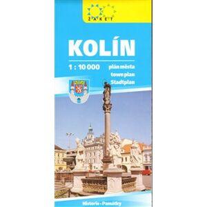 Kolín - plán města 1:10 000