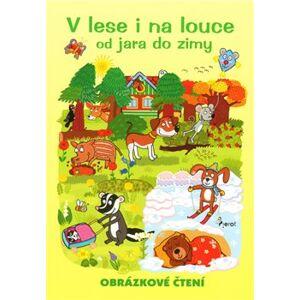 V lese i na louce - obrázkové čtení - Alena Schejbalová