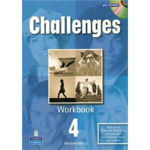 Challenges 4 workbook+CD-ROM - Michael Harris, David Mower, Anna Sikorzyńska