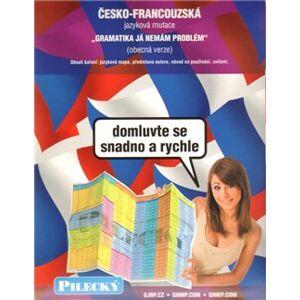 Jazyková mapa: česko-francouzská - obecná