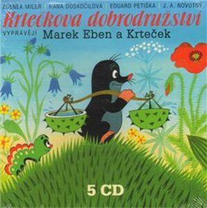 Krtečkova dobrodružství, CD - Zdeněk Miler, Hana Doskočilová