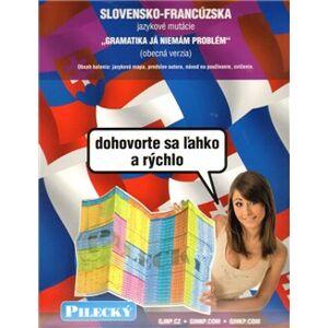 Jazyková mapa: slovensko-francouzská - obecná