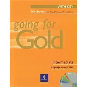 Going for Gold Intermediate Exam Maximiser With Key & Audio CDs - Richard Acklam, Sally Burgess, Araminta Crace