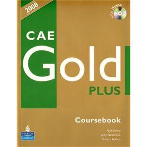 CAE Gold Plus Coursebook with iTest CD-ROM - Richard Acklam, Sally Burgess, Araminta Crace