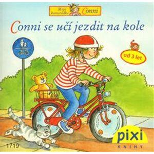 Conni se učí jezdit na kole. Dobrodružství s Conni