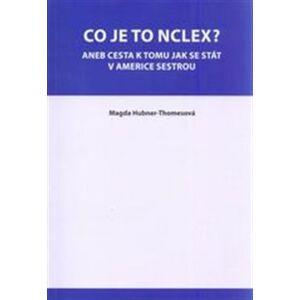 Co je to NCLEX?. aneb cesta k tomu, jak se stát v Americe sestrou - Magda Hubner-Thomesová
