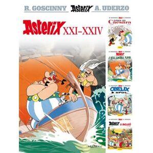 Asterix XXI - XXIV - René Goscinny, Albert Uderzo