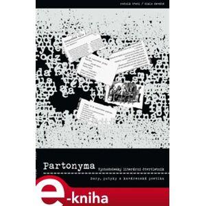 Partonyma č. 9/2014. Bary, putyky a kavárenská poetika e-kniha