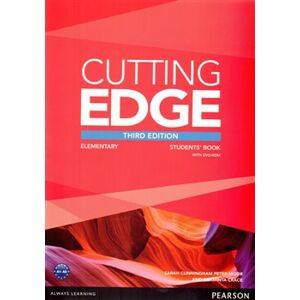 Cutting Edge 3rd Edition Elementary Students' Book and DVD Pack - Sarah Cunningham, Peter Moor, Araminta Crace