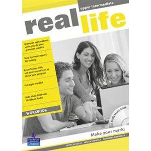 Real Life Global Upper Intermediate Workbook & Multi-ROM Pack - Patricia Reilly, Marta Umińska