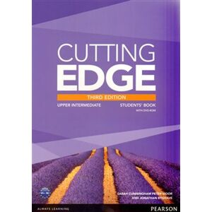 Cutting Edge 3rd Edition Upper Intermediate Students' Book and DVD Pack - Jonathan Bygrave, Sarah Cunningham, Peter Moor