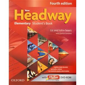 New Headway Fourth Edition Elementary Student´s Book with iTutor DVD-ROM(czech Edition) - Liz Soars, John Soars