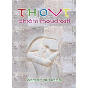 Thovt - Chrám moudrosti. 49 karet s výkladovou brožurkou - Kerstin Simoné