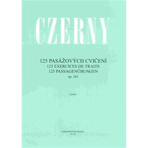 125 pasážových cvičení op. 261 - Carl Czerny