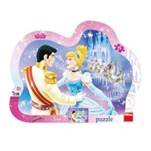 Puzzle Zamilovaná Popelka 25 dílků