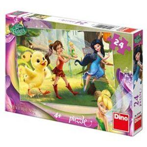 Puzzle Fairies a kuřátko 24 dílků