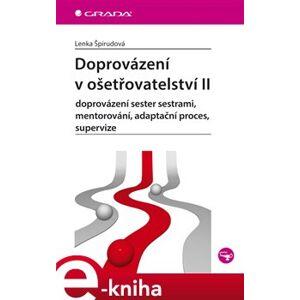 Doprovázení v ošetřovatelství II. doprovázení sester sestrami, mentorování, adaptační proces, supervize - Lenka Špirudová e-kniha