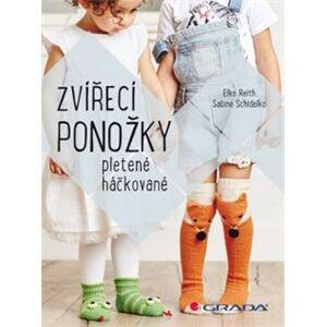 Zvířecí ponožky. Pletené i háčkované - Elke Reith, Sabine Schidelko