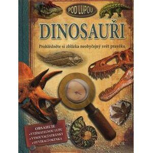 Dinosauři pod lupou. Prohlédněte si zblízka neobyčejný svět pravěku - Douglas Palmer
