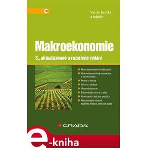 Makroekonomie - Václav Jurečka e-kniha