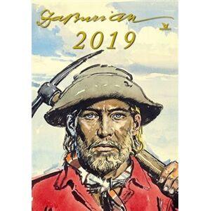 Nástěnný kalendář Zdeněk Burian 2019 - Zdeněk Burian