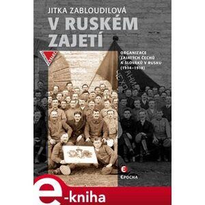 V ruském zajetí. Organizace zajatých Čechů a Slováků v Rusku (1914–1918) - Jitka Zabloudilová
