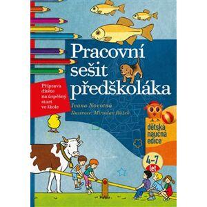 Pracovní sešit předškoláka. Příprava dítěte na úspěšný start ve škole - Ivana Novotná
