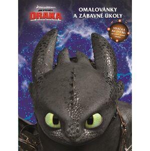 Jak vycvičit draka - Omalovánky - kolektiv