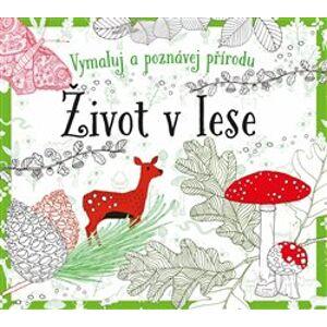 Život v lese - omalovánky. Vymaluj a poznávej přírodu - Susie Foster