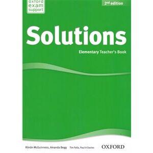 Maturita Solutions 2nd Edition Elementary Teacher´s Book with Teacher´s - R. McGuinness, Amanda Begg, Paul Davies, Tim Falla