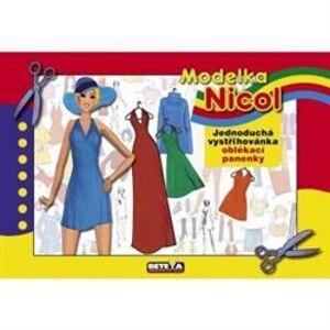 Modelka Nicol - vystřihovánky