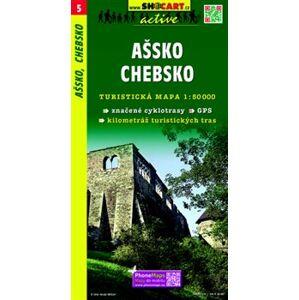 Ašsko, Chebsko / Turistická mapa SHOCart
