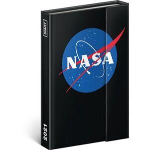 Týdenní magnetický diář NASA 2021, 11 × 16 cm