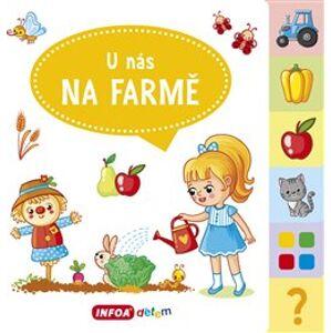 Velká knížka se záložkami - U nás na farmě - Jana Navrátilová