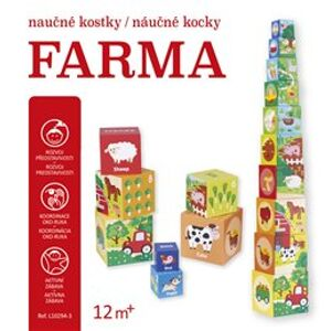 Naučné kostky - Farma
