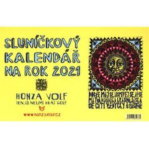 Sluníčkový kalendář 2021 - stolní - Honza Volf