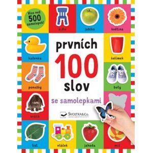 Prvních 100 slov se samolepkami - Robyn Newton, Kimberley Faria, Kate Ward