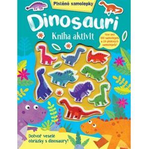 Plstěné samolepky - Dinosauři