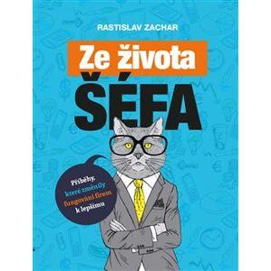 Ze života šéfa. Příběhy, které změnily fungování firem k lepšímu - Rastislav Zachar