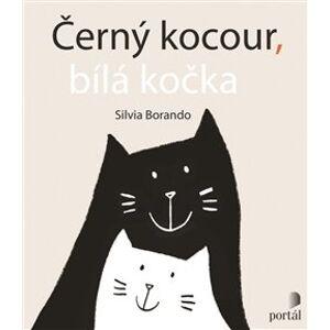 Černý kocour, bílá kočka - Silvia Borando