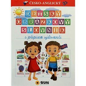 Dětský obr.slovník s přepisem výslovnost