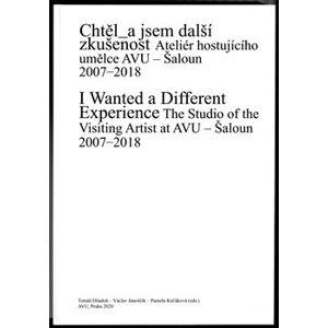 Chtěl_a jsem další zkušenost. Ateliér hostujícího umělce AVU. Šaloun 2007–2018
