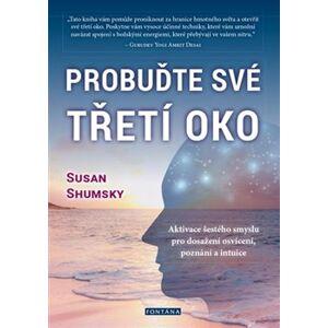 Probuďte své třetí oko. Aktivace šestého smyslu pro dosažení osvícení, poznání a intuice - Susan Shumsky