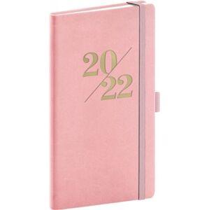 Kapesní diář Vivella Fun 2022 - Růžový