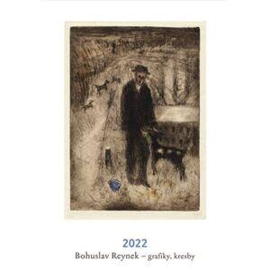 Bohuslav Reynek kalendář 2022. grafiky. kresby - Bohuslav Reynek